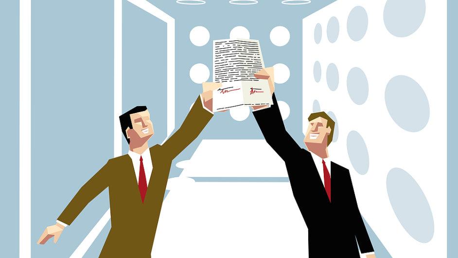 smlouva dohoda podnikani firma
