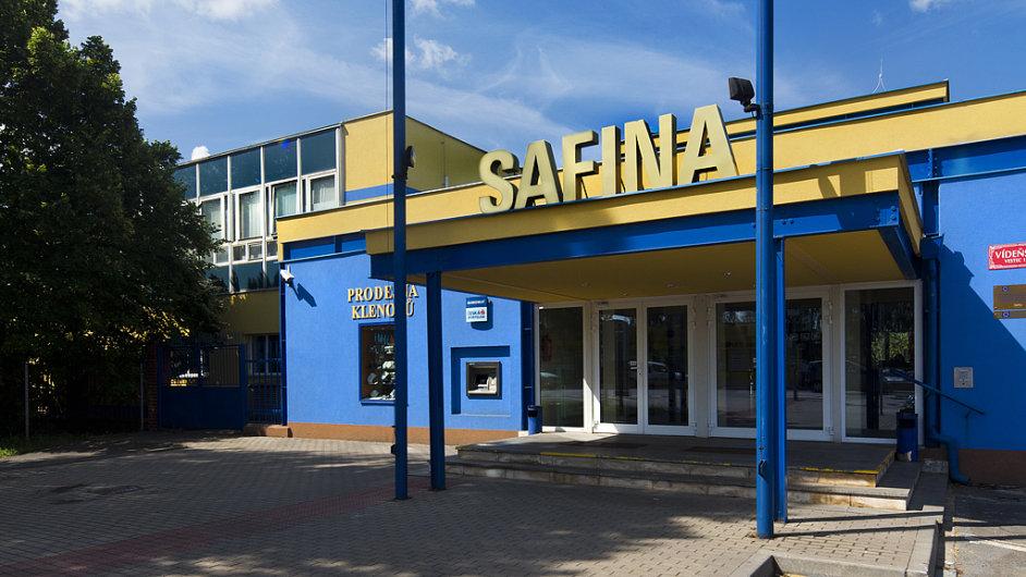 Sídlo Safiny ve Vestci u Prahy.