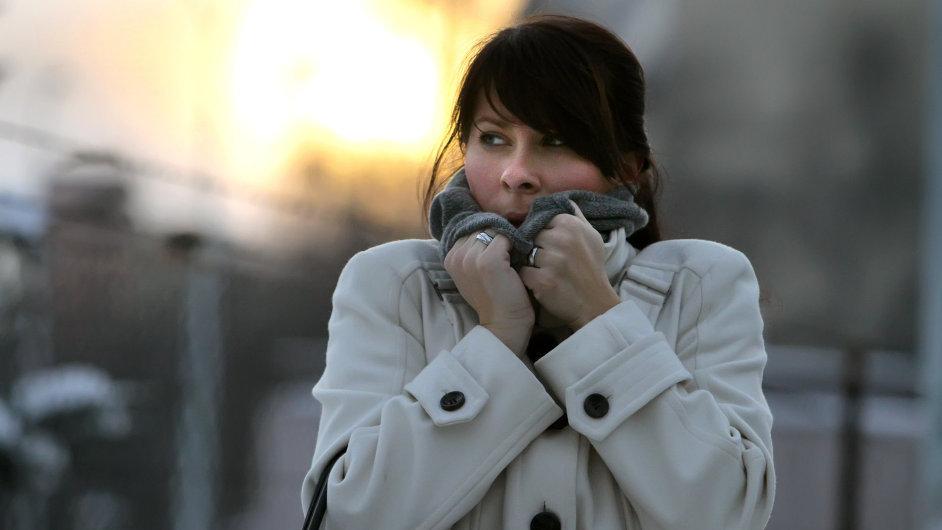 Vyčerpané tělo snáze podlehne nachlazení.