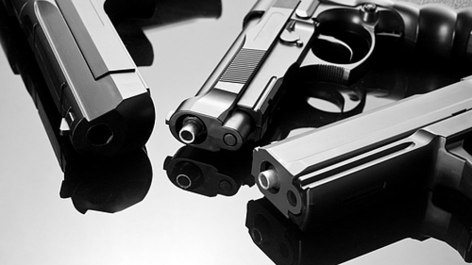 Zbraně. Ilustrační foto