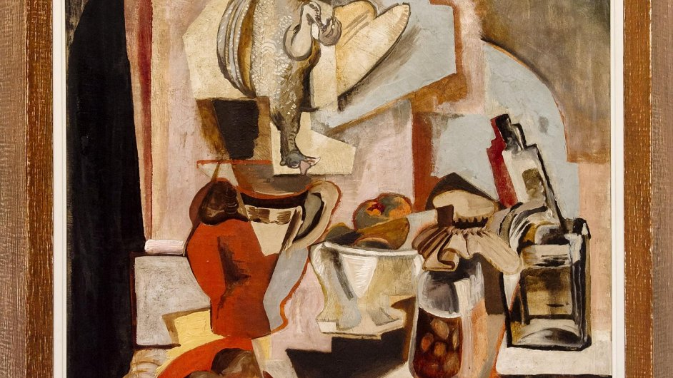 Obraz Emila Filly Zátiší se prodal za více než sedm milionů korun.