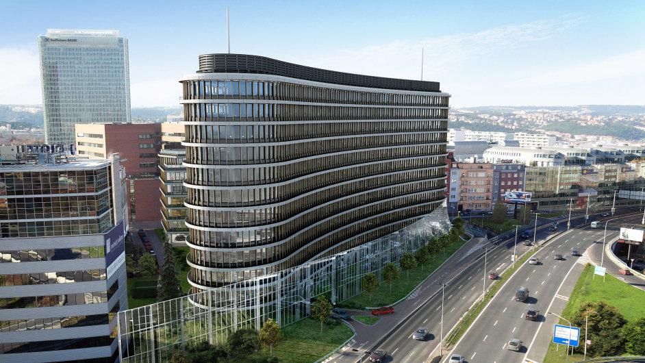 Novou dominantou pražské Pankráce bude Enterprise Office Center.
