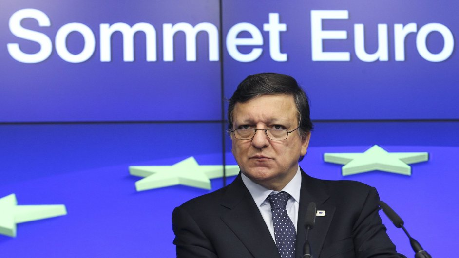 Předseda EK José Manuel Barroso.