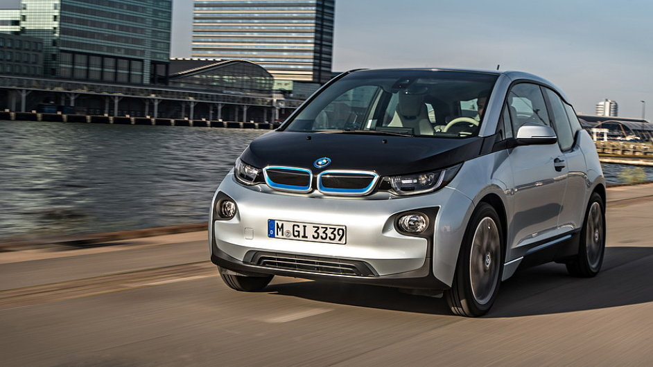Elektromobil BMW i3.