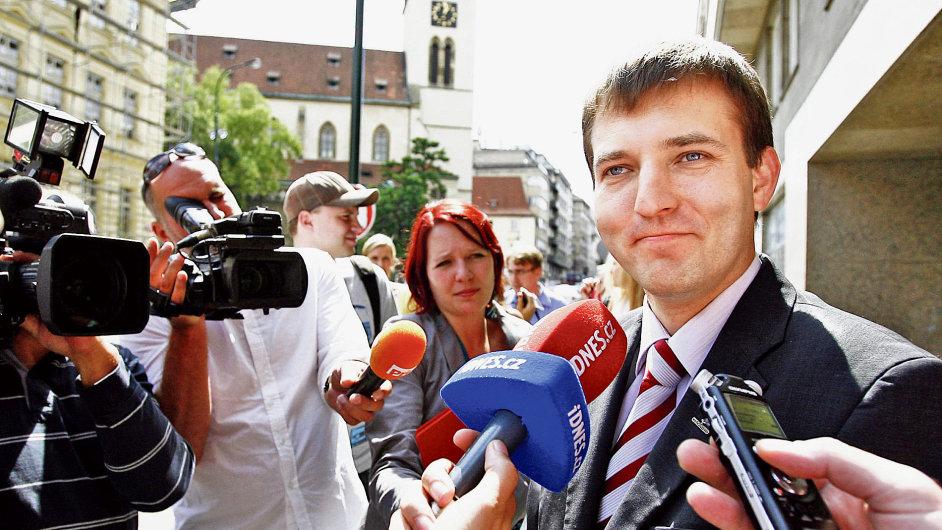 Obviněný exšéf CzechInvestu Miroslav Křížek