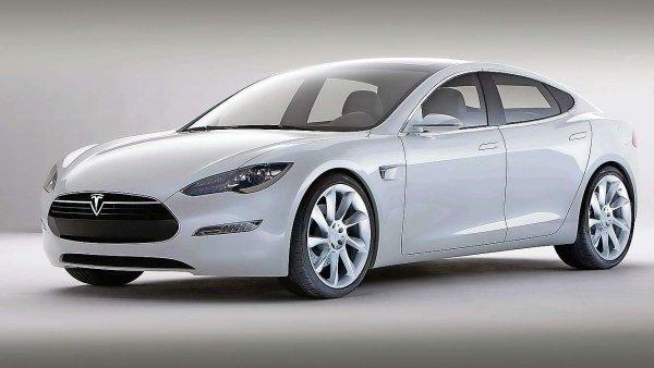 Model Tesla S bude s novým softwarem řídit sám, stačí se jen dotýkat volantu.