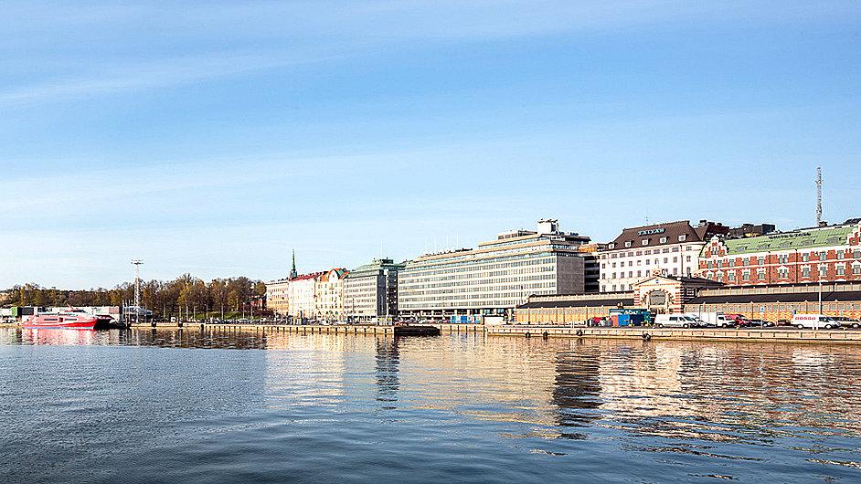 Pobočka Guggenheimova muzea v Helsinkách má stát na tomto místě u vody.