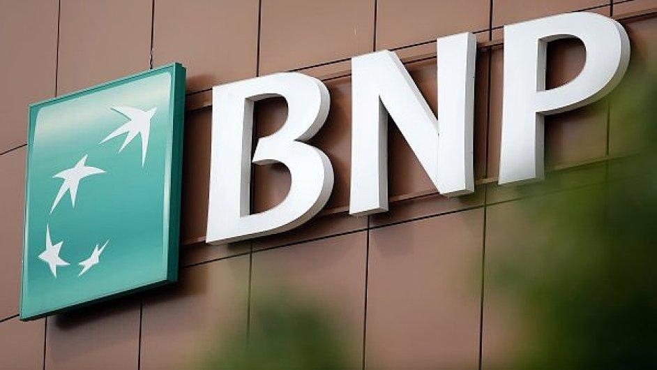 Logo francouzské bankovní skupiny BNP Paribas