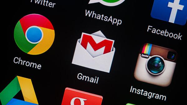 Populární službu Gmail napadli hackeři