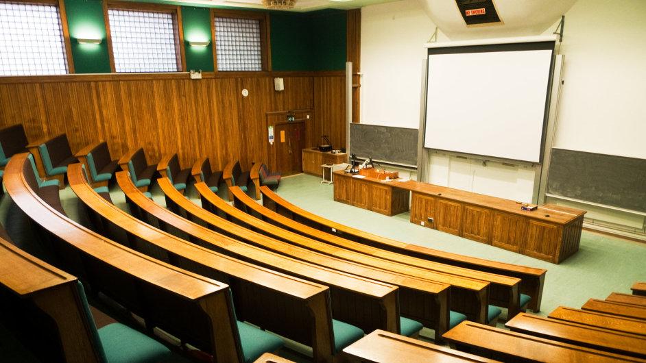 Přednášková místnost, ilustrační foto