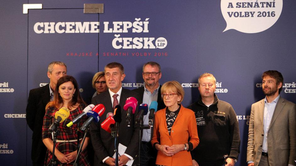 Andrej babiš, hnutí ANO, volby 2016