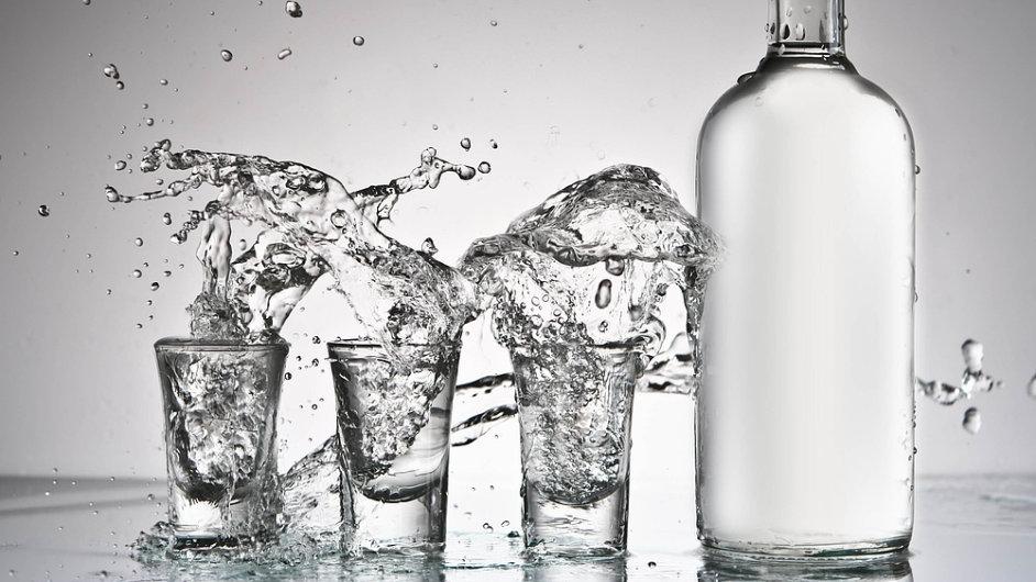 Vodka - Ilustrační foto.