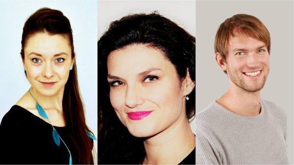 Marketing UP21: Radka Horáková, Michaela Šámalová, Jan Kříž