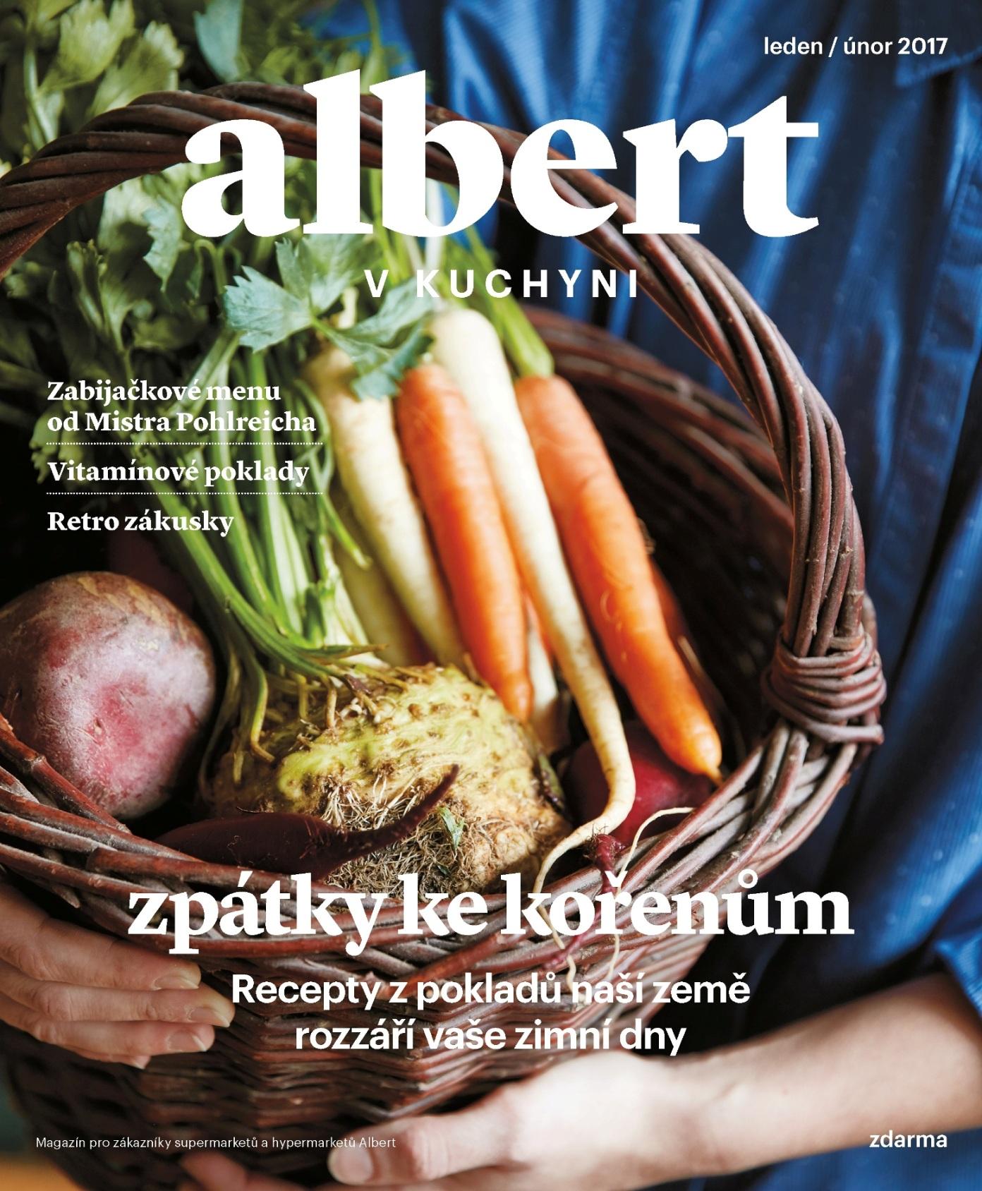 Albert v kuchyni (leden 2017)