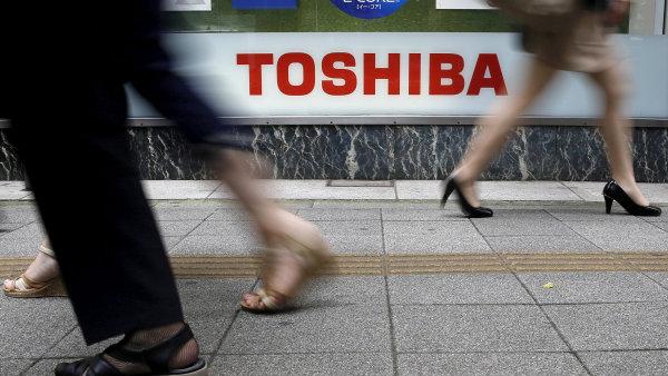 Toshiba měla potíže se svými účetními knihami i v minulosti - Ilustrační foto.