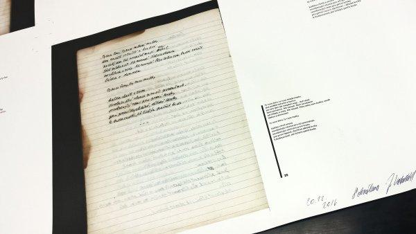 Texty ze Zahradníčkova sešitu nyní vydala Moravská zemská knihovna.