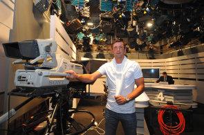 David Pospíšil, televizní módeman. Bývalý hokejista prodává luxusní oblečení
