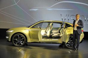 Škoda plánuje vyrábět svůj první elektromobil v Česku. V Šanghaji nyní představila prototyp