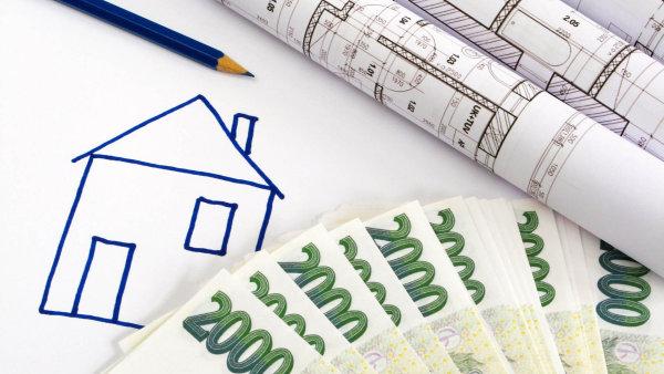 Češi si letos na hypotékách půjčili o 5,4 procenta více než v minulém roce.