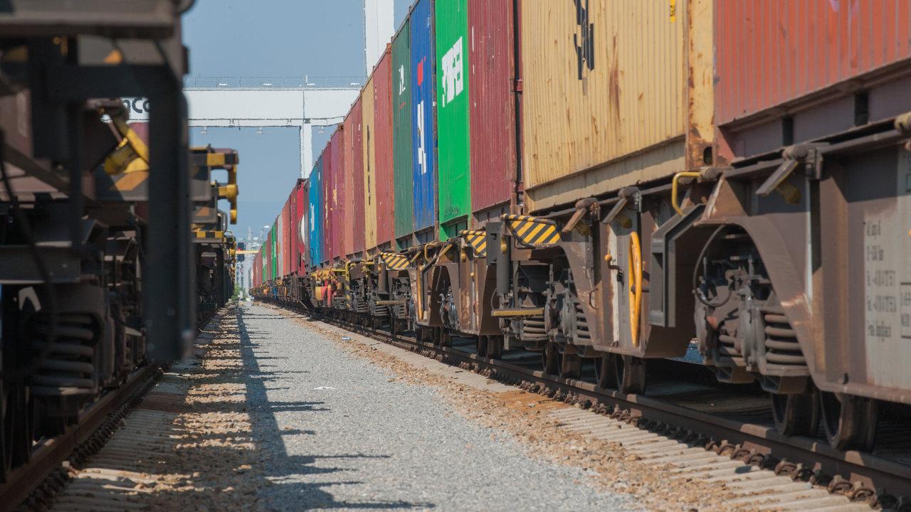 Železniční přeprava mezi Čínou a EU dál roste