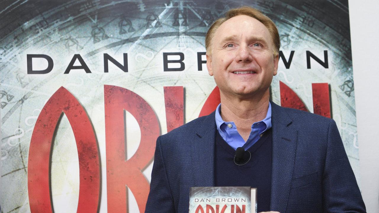 Nový román Dana Browna (na snímku) pod názvem Počátek v překladu Michaly Markové a Davida Petrů začátkem února 2018 vydá nakladatelství Argo.