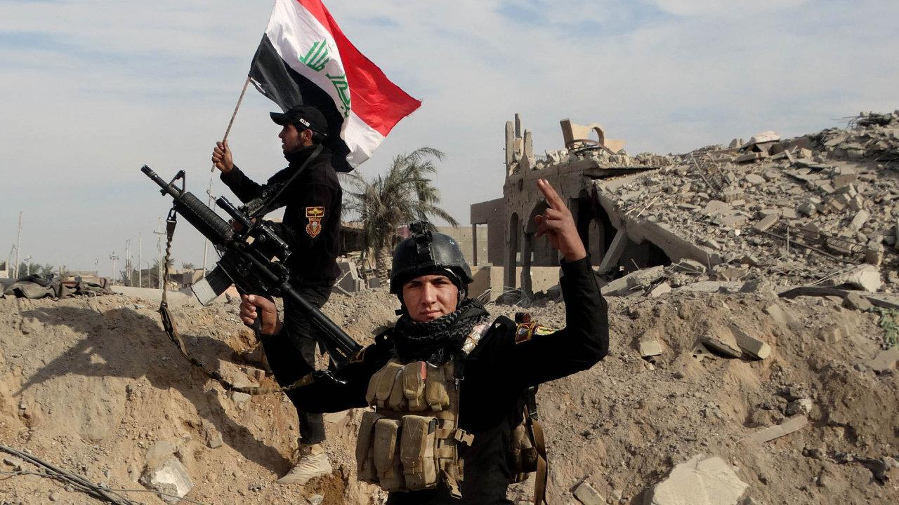 Irácká armáda podlouhých bojích dobyla strategické město Ramádí.