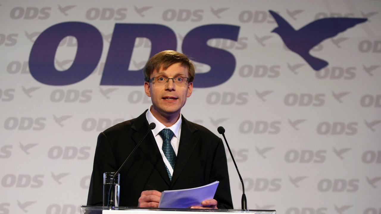 Martin Kupka na lednovém kongresu ODS