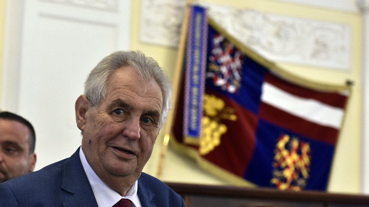 Prezident Miloš Zeman absolvoval třídenní cestu po Jihomoravském kraji v Brně.