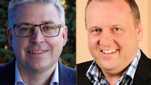Martin Brix, generální ředitel společnosti LeasePlan Česká republika; Petr Mašek, finanční ředitel