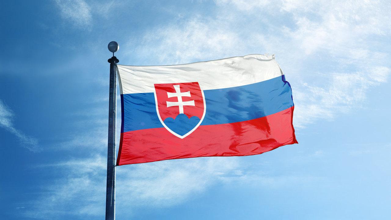 Slovenská vlajka, Slovensko