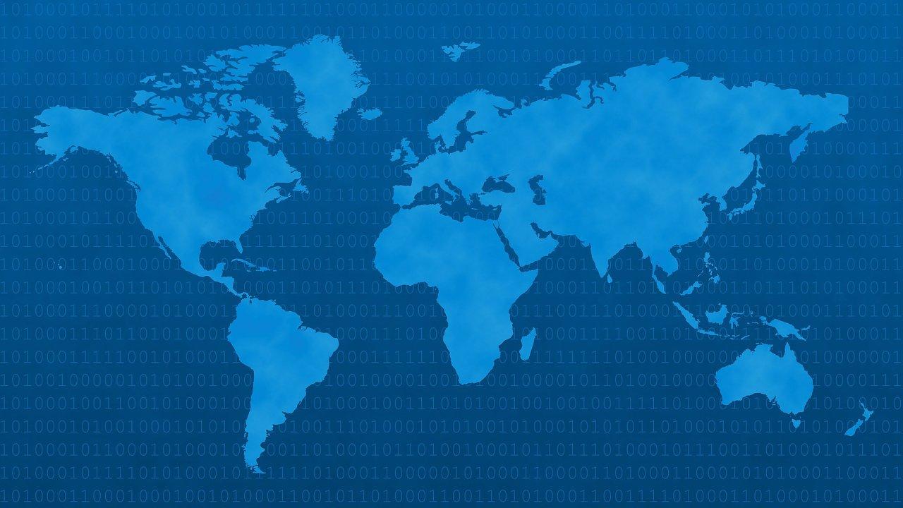 Oracle poskytuje zdarma mapu narušení internetového provozu, ilustrace