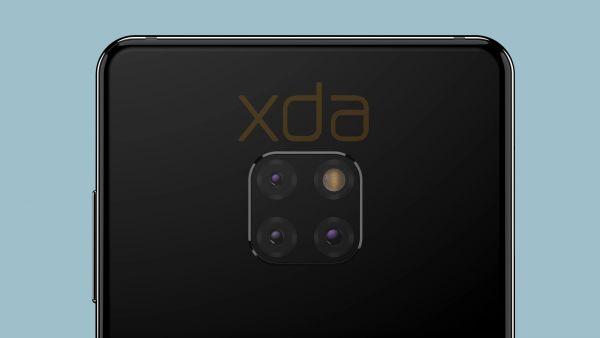 Huawei Mate 20 bude mít výřez displeje ve tvaru kapky, Android Pie a netradiční fotoaparáty.