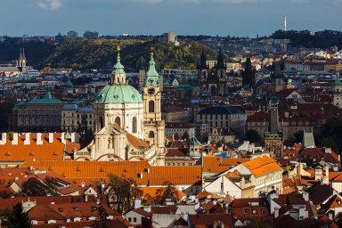V Josefově, na Malé Straně a na Novém Městě podíl převyšuje 10 procent, na Starém Městě dokonce 20 procent.