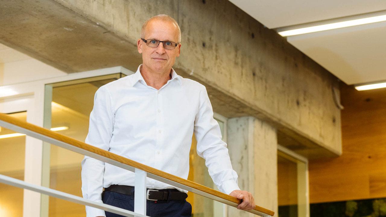 Martin Svoboda (55), výkonný ředitel developerské firmy JRD