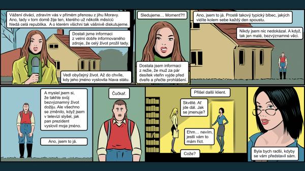 Další, prosím! Komiks Miloše Gašparce o Čučkaři, Ekonomickém zm**ovi a ostatních, kterým Zeman zničil život