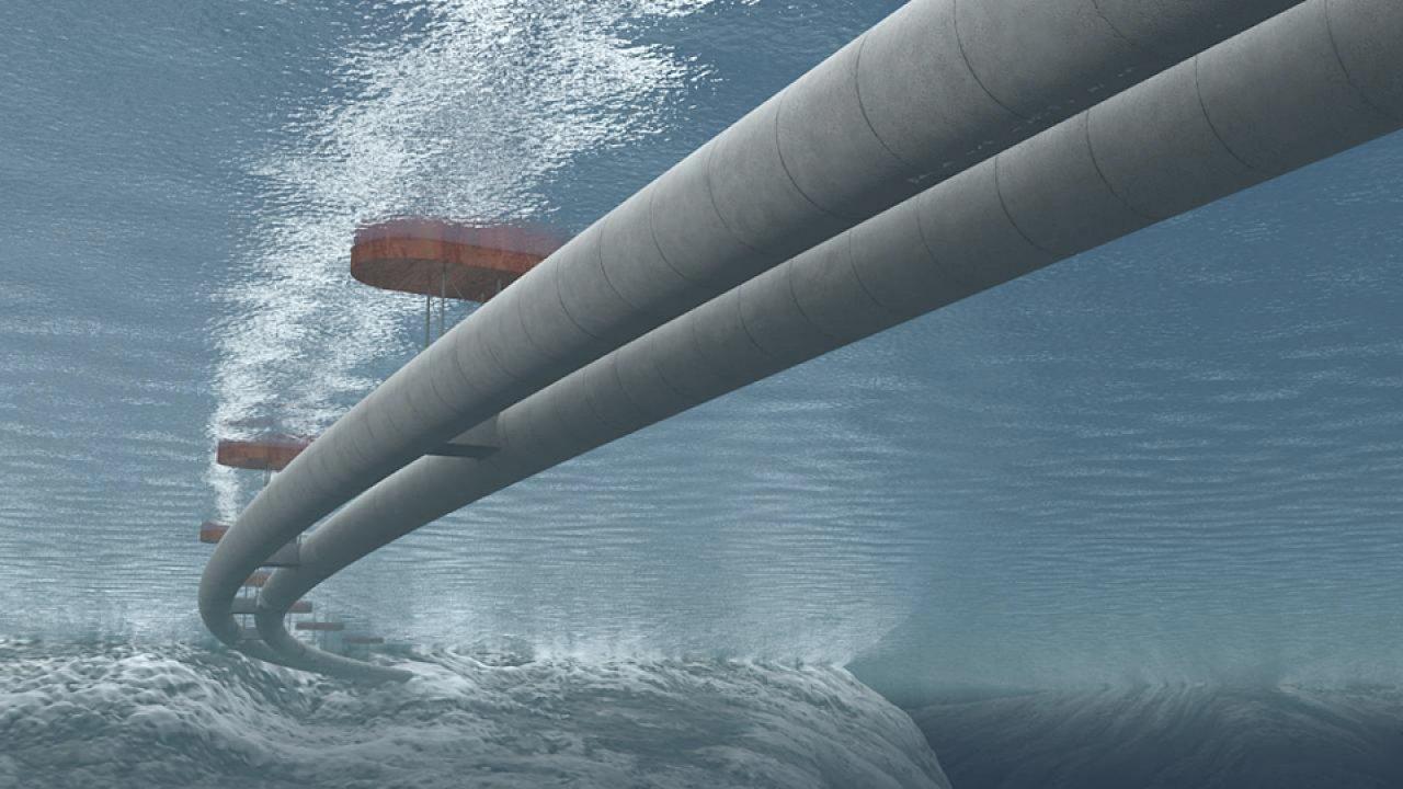 Norský plovoucí tunel