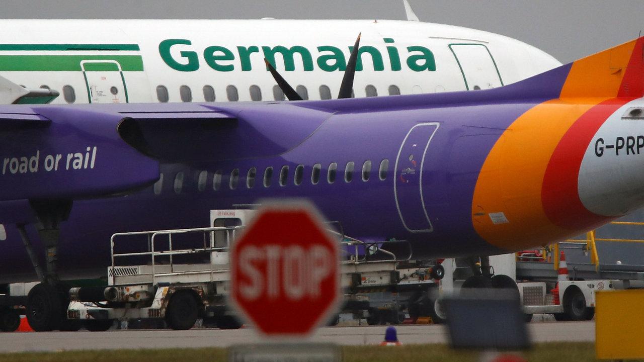 Aerolinky Germania. Charter, nízkonákladové.