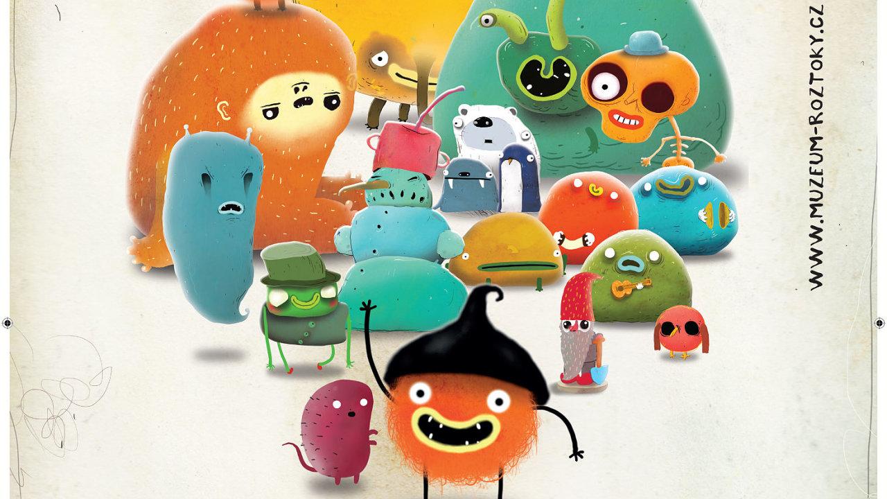 Výstava Zachuchleno přibližuje interaktivní formou svět počítačové animace a nezávislých videoher.