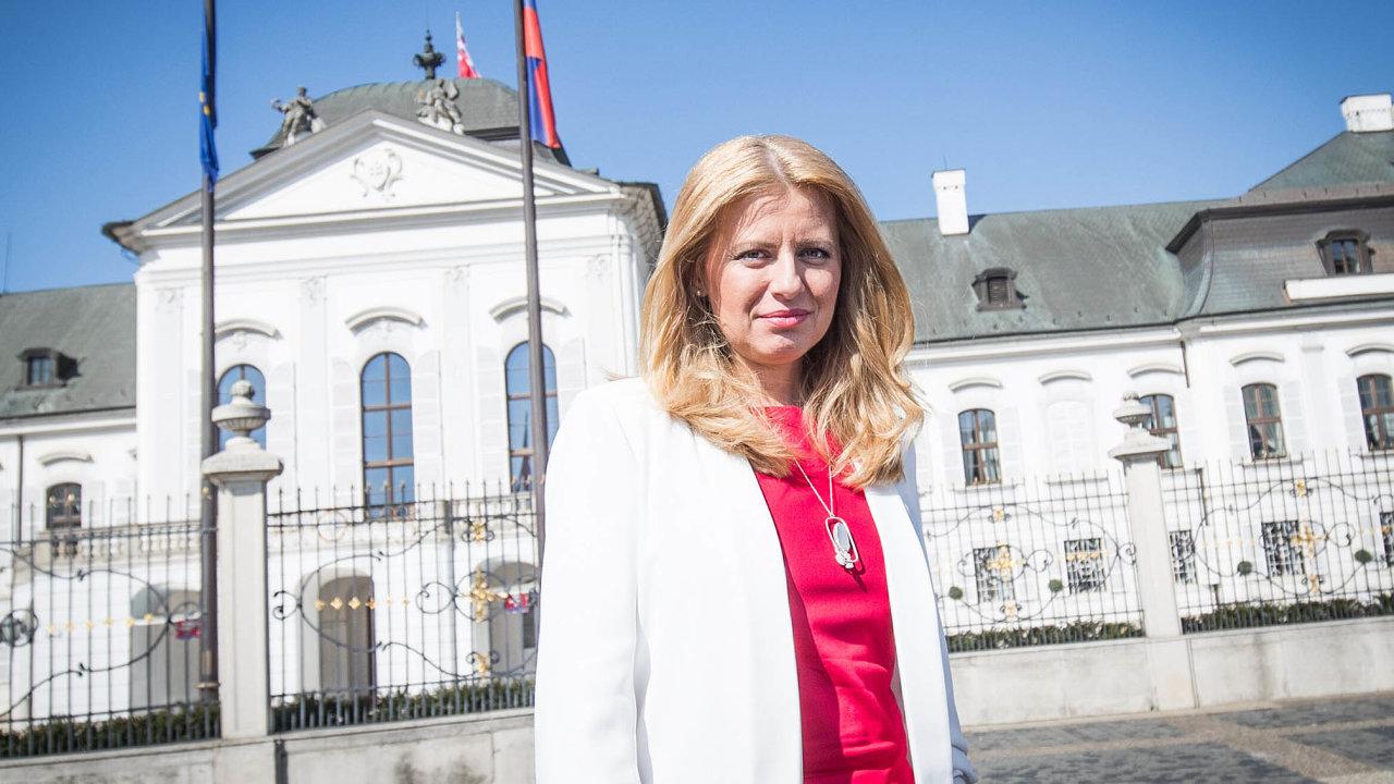 Ikdyž jsou pravomoci slovenského prezidenta omezené, bude mít Čaputová nepochybně svá témata, vnichž se vyzná, na nichž se profilovala aoněž má veřejnost velký zájem.