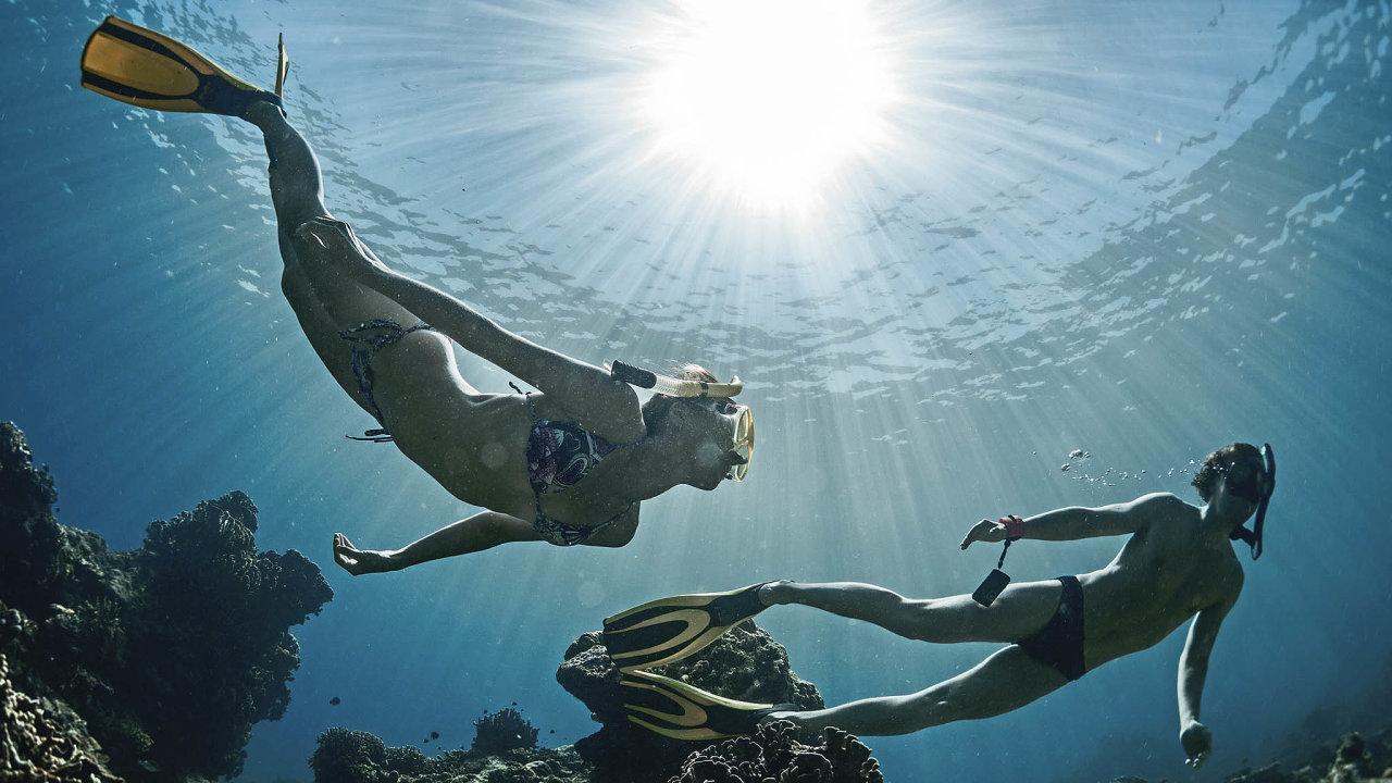 Netrénovaný jedinec vydrží bez dýcháníokolo minuty, trénovaní freediveři ohodně déle– současný rekord je 11,5 minuty bez přísunu kyslíku.