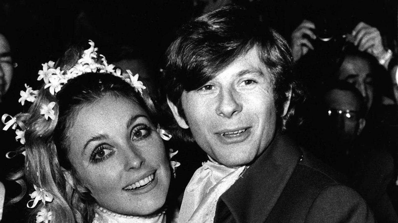 Herečka Sharon Tateová a režisér Roman Polanski se vzali vlednu1968.