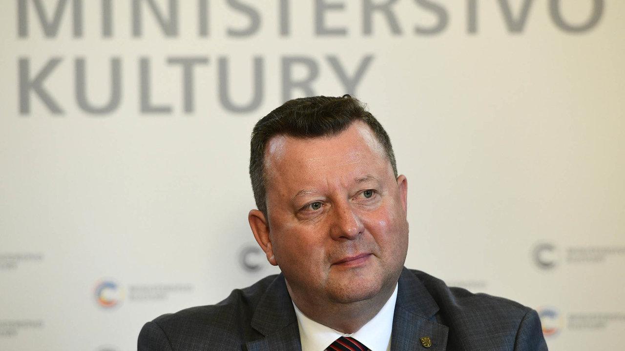 Trestní oznámení nadva bývalé ředitele olomouckého muzea umění podal před odchodem zfunkce ministra kultury Antonín Staněk (ČSSD).