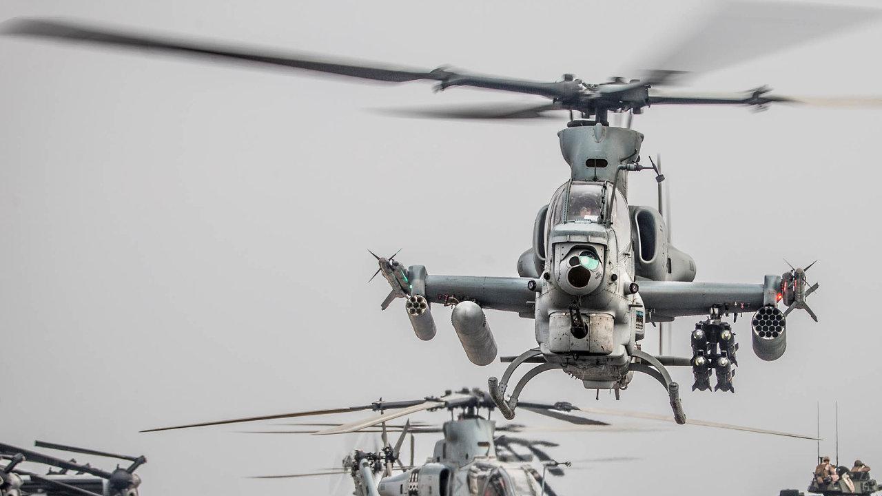 Vprvním prosincovém týdnu by armáda měla podepsat smlouvu nanákup osmi radarů MADR. Akrátce poté by měl být podepsán samerickou vládou inákup dvanácti bojových vrtulníků firmy Bell.