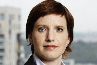 Nová ředitelka pro veřejnou správu vespolečnosti Microsoft ČR Lenka Axlerová.