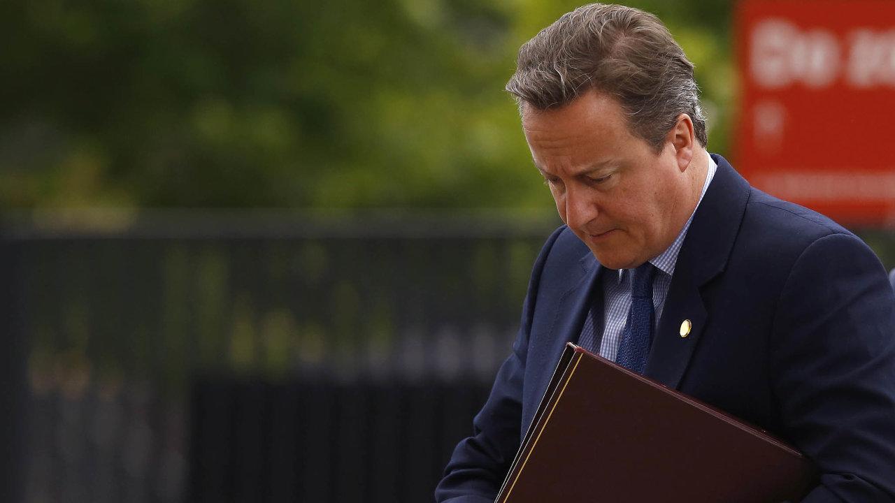 David Cameron:Selhal jsem, přiznává muž, jenž vyhlásil referendum obrexitu, kvůli němuž iskončil.