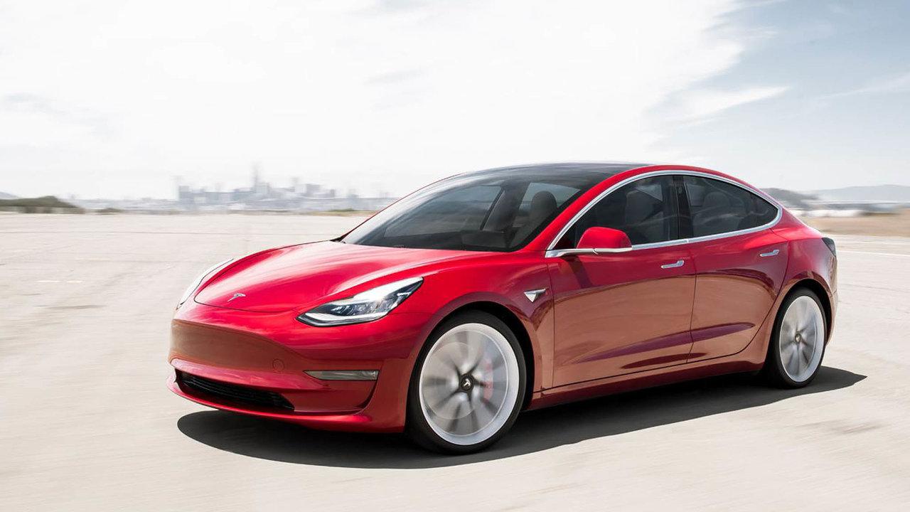 Model 3: Nejprodávanějším vozem Tesly je Model 3.