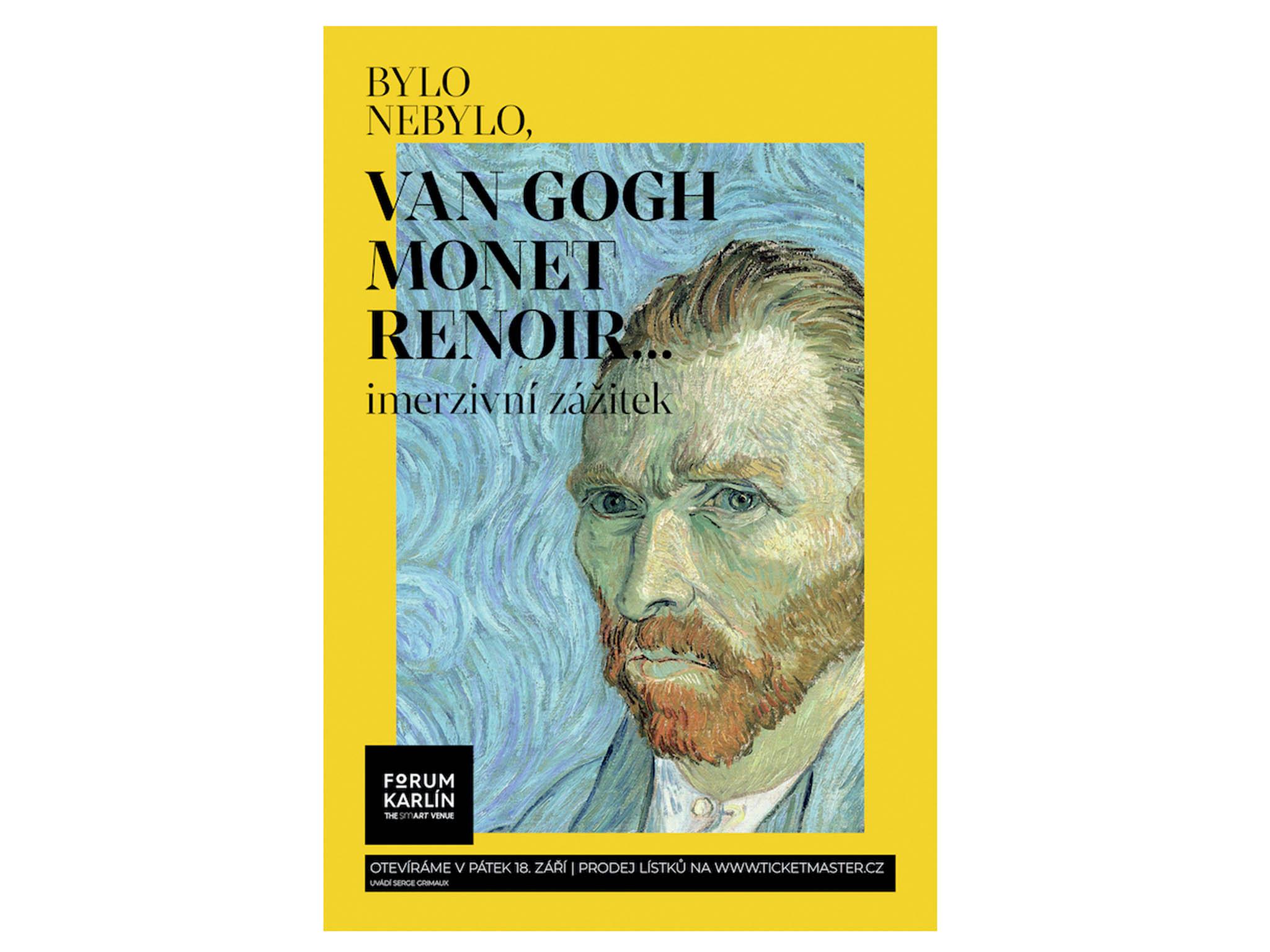 Naploše více než 2000 m? se představí mistrovská díla proslulých impresionistů vprojekcích doplněných prostorovými zvukovými efekty.