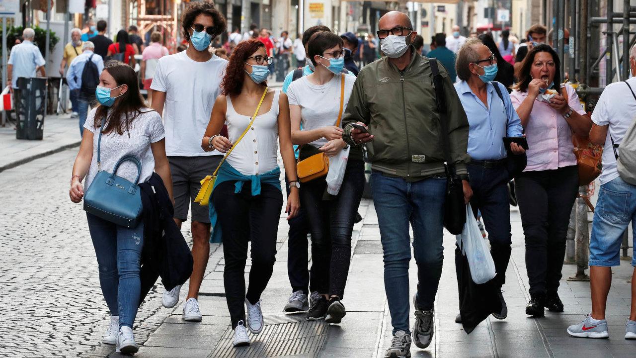 Jde to už lépe.Itálii zasáhl najaře koronavirus silně. Země se poučila adruhou vlnu zvládá lépe.
