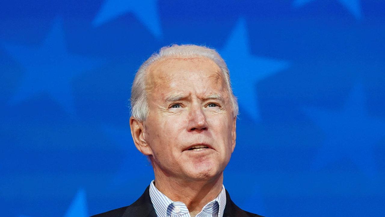 Joe Biden ponapínavém souboji ovládl bílý dům. Hodlá navázat naBaracka Obamu, pro kterého pracoval jako viceprezident.