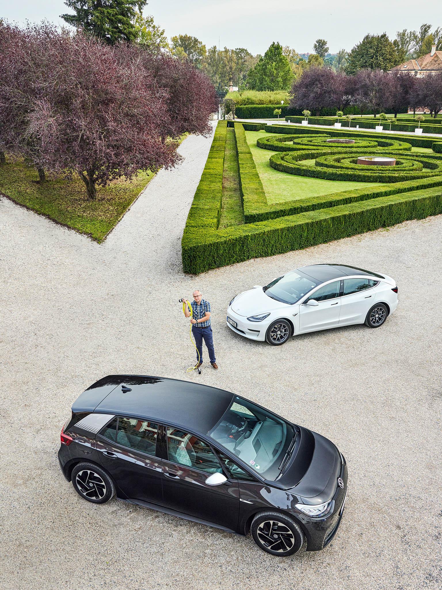 Martin Přibyl: Volkswagen ID.3, Tesla Model 3 Long Range Dual Motor